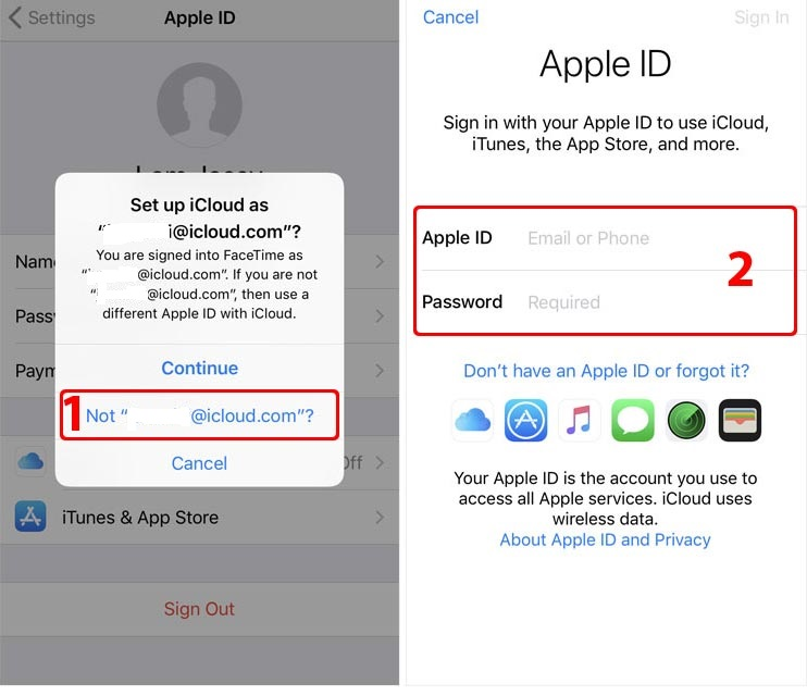 how to cancel apple id